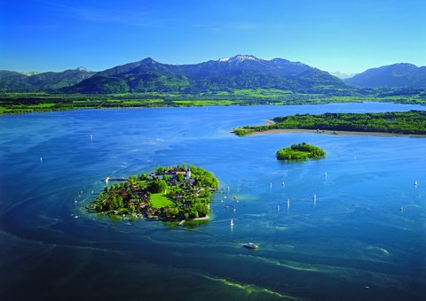 Fraueninsel und Krautinsel, Chiemsee