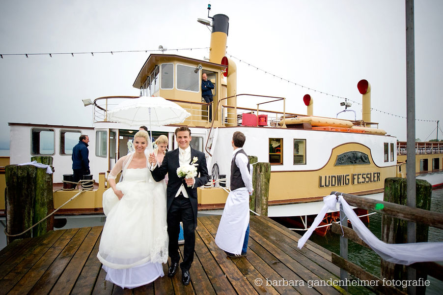 Hochzeit An Bord Chiemsee Schifffahrt