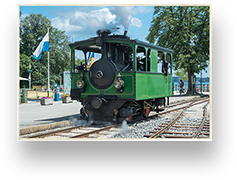 Historic steam railway 